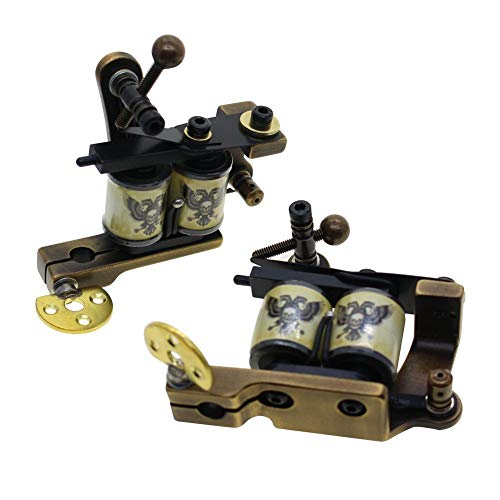 Thomas Handmade Coil Tattoo Machines with Brass Frame