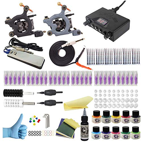 Wormhole Tattoo Complete Tattoo Kit for Beginners