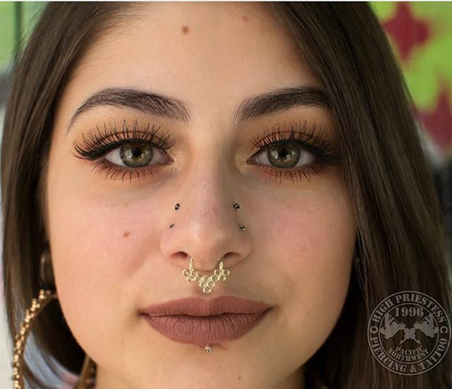 Background of Nostril Piercing and its Origin
