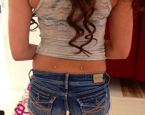 What Types of Piercing Jewelry to Use with Back Dimples