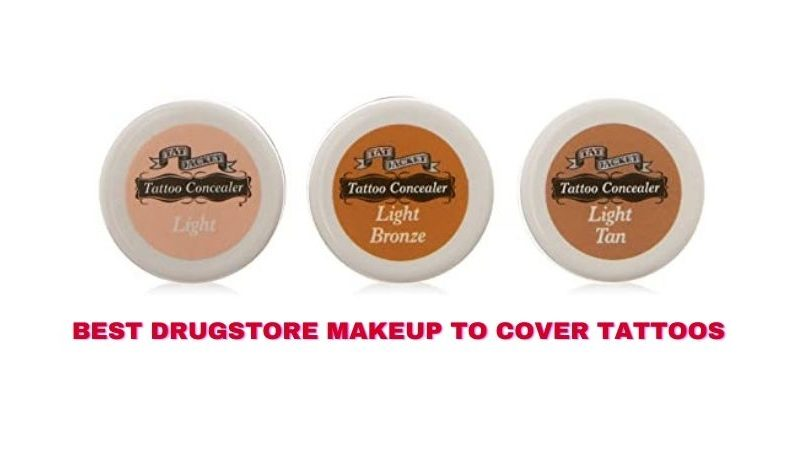 Best Drugstore Makeup to Cover Tattoos